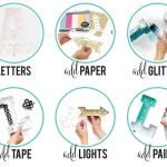 Decorar letras luminosas DIY minimoi