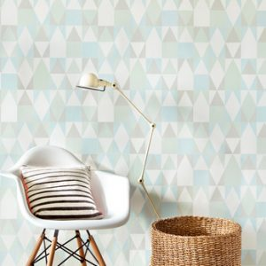 Wallpaper geometric print minimoi
