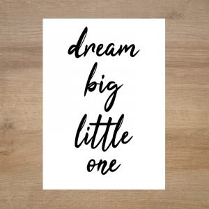 lamina-infantil-mensaje-dream-big-little-one-minimoi
