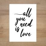 Poster-lamina-all-you-need-is-love-minimoi