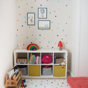 Vinilo Dots Colors 3