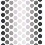 Sticker dots grey minimoi